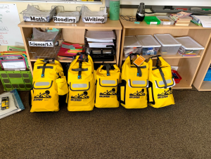The Homer Foundation provided funding that made our new classroom Emergency Backpacks possible!!