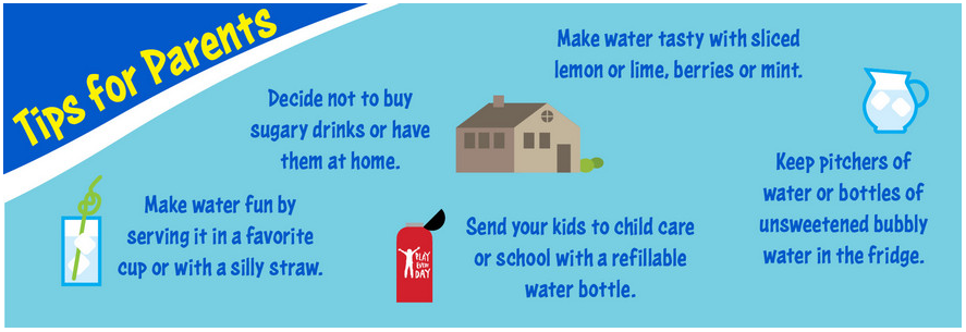 tips for Parents drink water